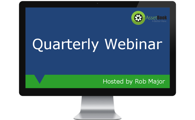 Quarterly webinar slated for Wednesday, June 29 at 4 PM Eastern Time